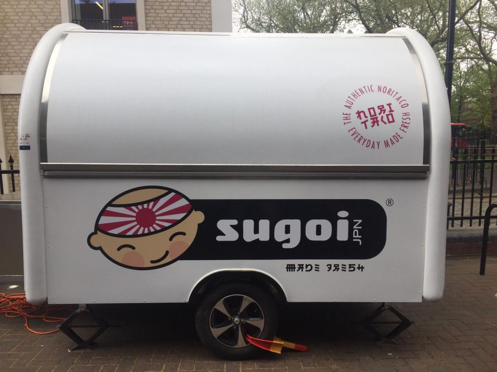Sugoi Caravan Big Stickers