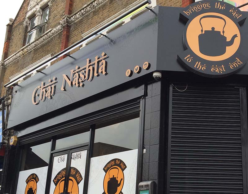 chai nashta non illuminated sign