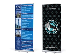 Rollup Banner for Afrobeats Events