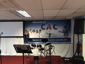 Wall Church Banner CAC