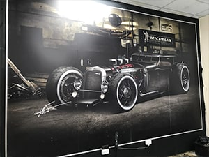 Luxury Car - Wall Banner near London