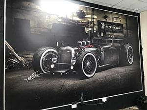 Luxury Car - Wall Banner near London