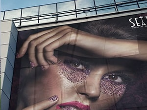 Mesh Banner - Fashion Design