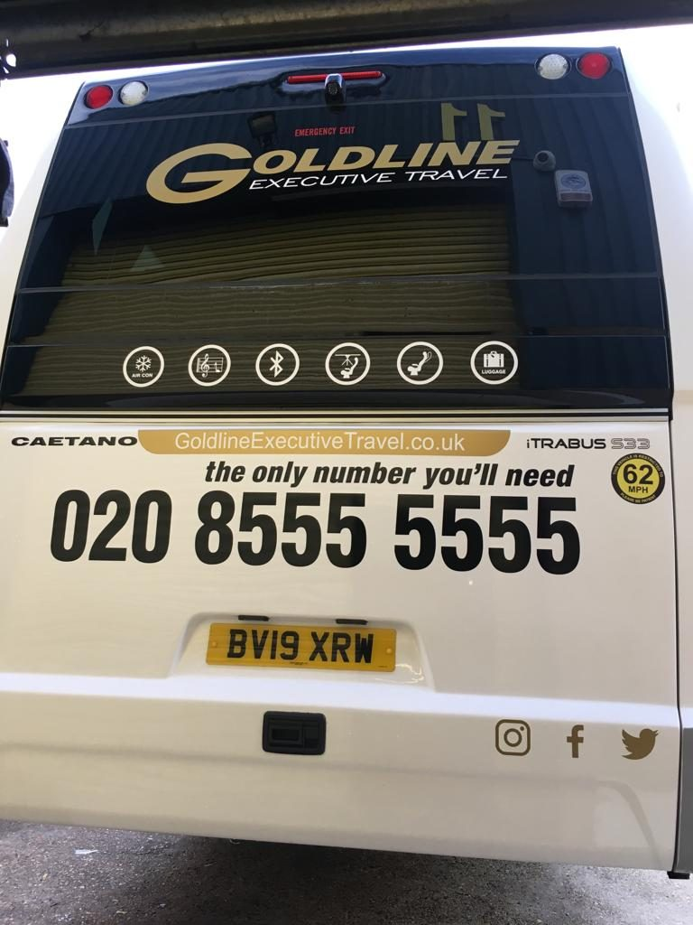 Back Goldline Coach Mini