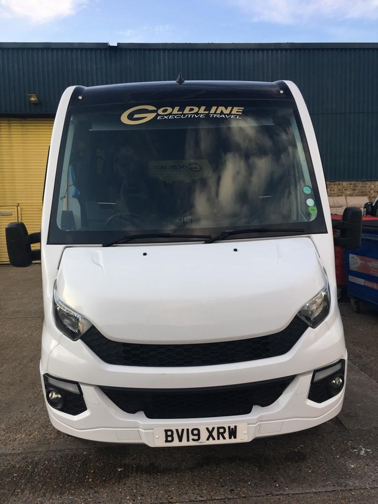 Front Goldline Coach Mini