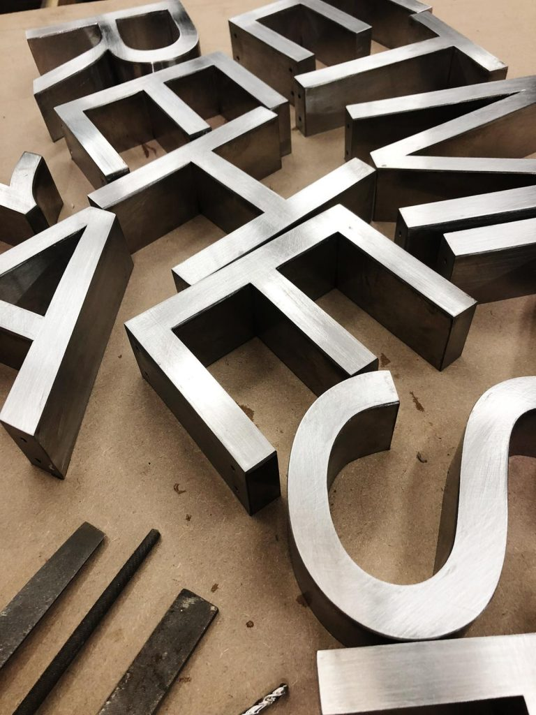 Quality 3D letters
