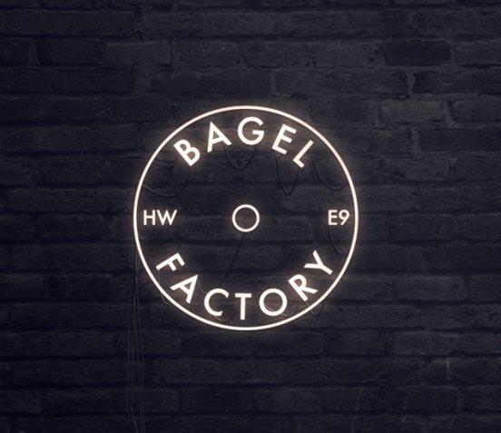 Bagel Factory Neon Logo