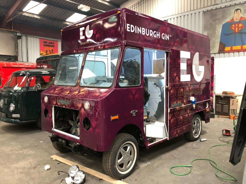 EGG Vintage Van - Full Wrapping VAN