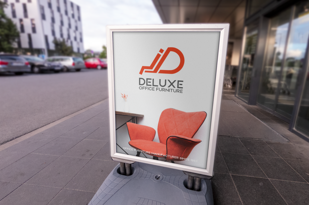 free Stand Sign JD Deluxe